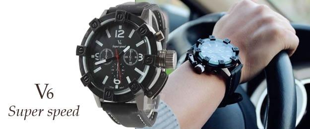 Pánske hodinky V6 Super speed