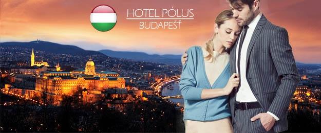 3-dňový pobyt pre 2 osoby v hoteli Pólus Budapešť