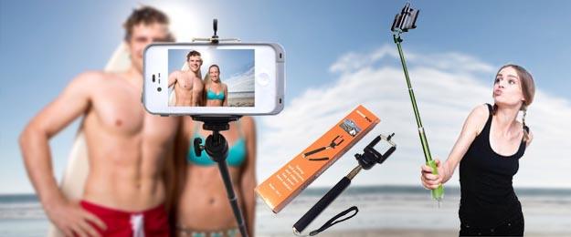 Teleskopická tyč pre fotenie skvelých Selfie