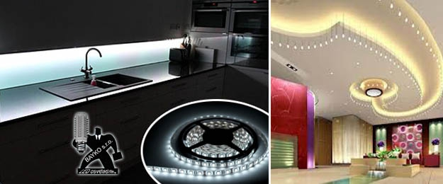 5-metrový LED pás