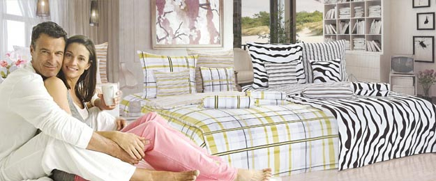 Moderné posteľné obliečky