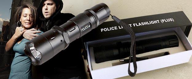 LED baterka POLICE s paralyzérom