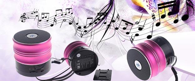 Bezdrôtový mini MP3 reproduktor