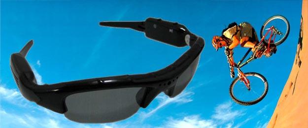 DVR slnečné okuliare s mikro kamerou