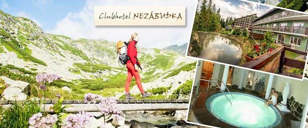 Wellness dovolenka v Hoteli Nezábudka***