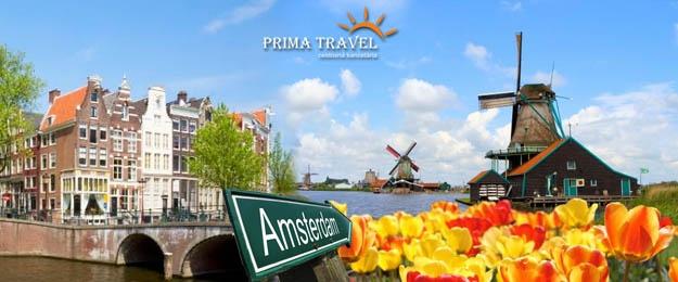 Holandsko - Amsterdam a svetová kvetinová výstava