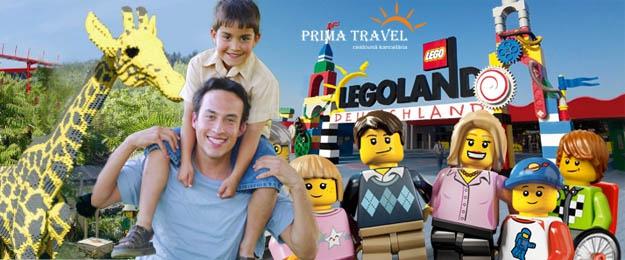 3-dňový zájazd do nemeckého Legolandu