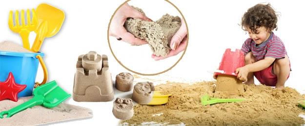 Nevysychajúci tekutý piesok