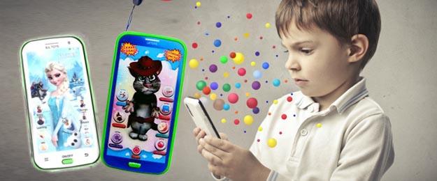 Detský mobil na výučbu angličtiny Talking Tom alebo Frozen