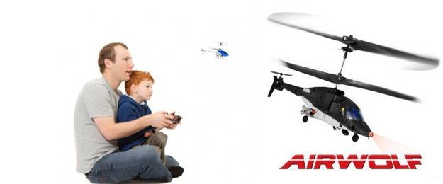 Mini vrtuľník na diaľkové ovládanie