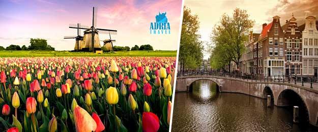 5-dňový zájazd do Amsterdamu, Brúg a na výstavu kvetov Keukenhof