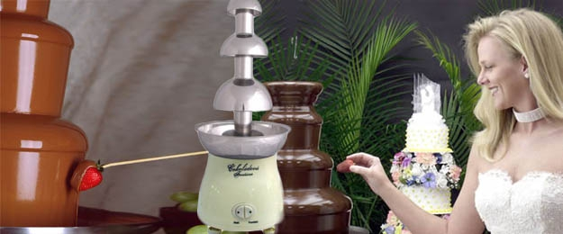 Prenájom 3-poschodovej čokoládovej fontány