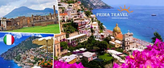 5-dňový zájazd do čarovnej Kampánie v Taliansku