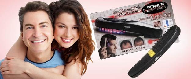 Power Grow Comb Laser - urýchľovač rastu vlasov
