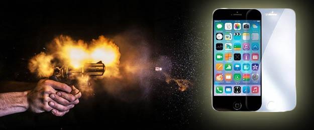 Tvrdené predné sklo na IPhone 44S, 55S, 66S a Samsung Galaxy S5, S6