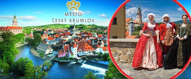 1-dňový zájazd do Českého Krumlova počas slávnosti päťlistej ruže