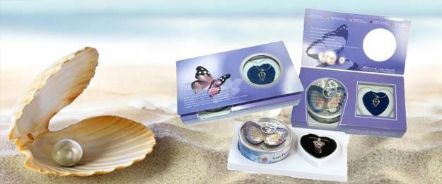 Perla prianí - sada náhrdelníka s príveskom, náušnice a prstienok