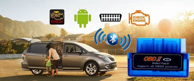 Bluetooth diagnostika motora