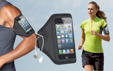 Športové púzdro na mobil na ruku