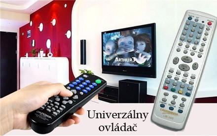 Univerzálny diaľkový ovládač