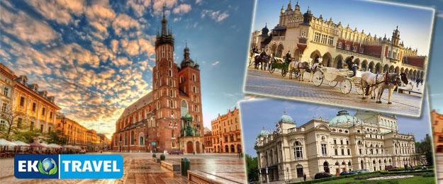 Poznávací zájazd Krakow - Osvienčim - Vielička