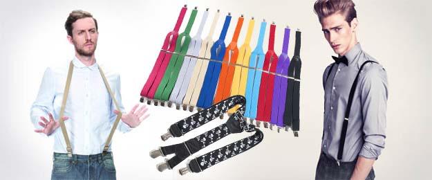 Štýlové traky v rôznych farbách