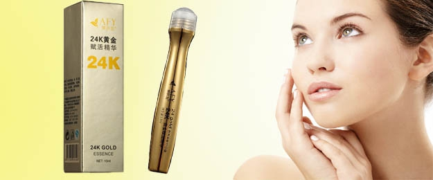 2 v 1 Zlaté očné sérum a kyselina hyalurónová