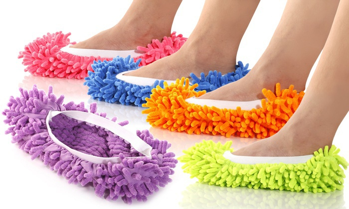 Mop papuče na čistenie
