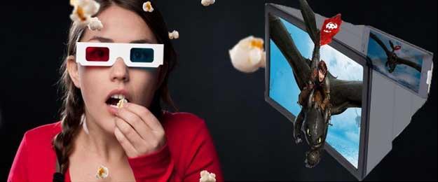 3D zväčšovač na mobilný telefón