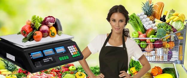 Obchodná digitálna váha VERTIE