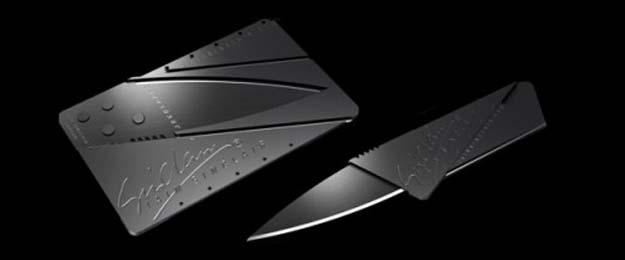 CardSharp – skladací nôž veľkosti kreditky