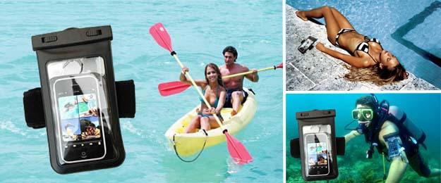Vodotesné puzdro na mobil, doklady či kľúče