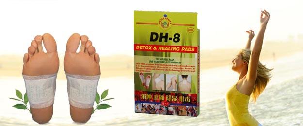 Detoxikačné čistiace náplaste DH-8 (16 ks v balení)