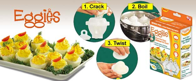 Eggies - nádobky na varenie vajíčok
