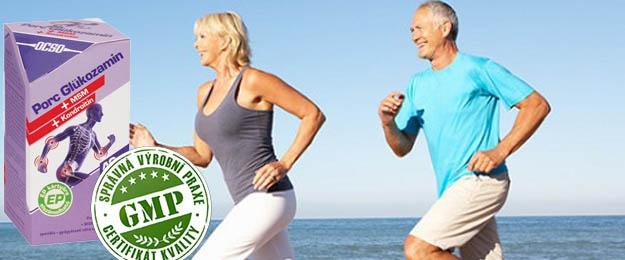 Chrupavka Glukosamin + Kondroitin + MSM - pre ZDRAVIE KĹBOV