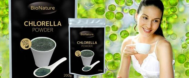 Organická superpotravina chlorella 200 g
