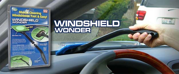 WINDSHIELD WONDER stierka na sklo