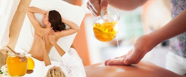 Detox balík - 6x medová masáž