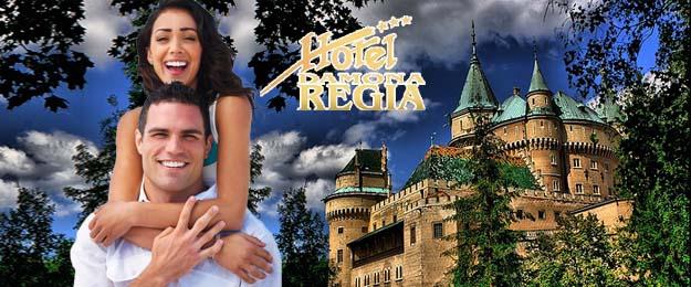 Wellness pobyt v hoteli Regia