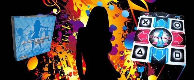 Tanečná podložka X-Treme Dance Pad Platinum