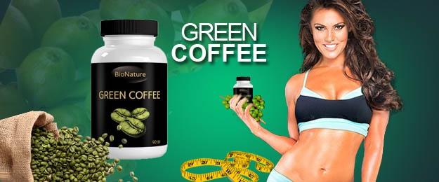 Green Coffee Bean extrakt na chudnutie