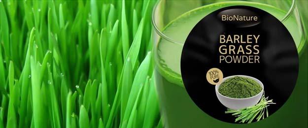 Bionature Mladý zelený jačmeň sušená šťava