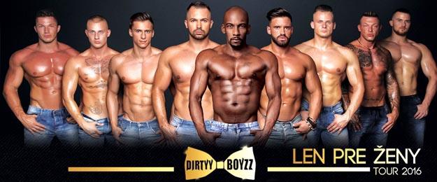 Premium vstup na fantastickú striptízovú show LEN PRE ŽENY TOUR 2016