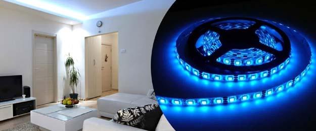 Farebný 5-metrový LED pás