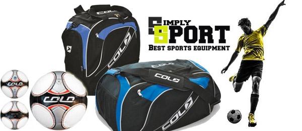 Športové tašky a lopty COLO