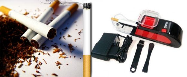 Výkonná elektronická plnička cigariet