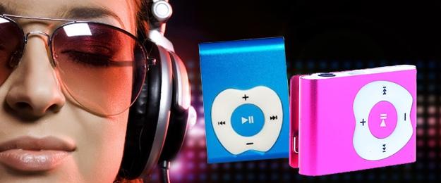 MP3 prehrávač - Apple Design