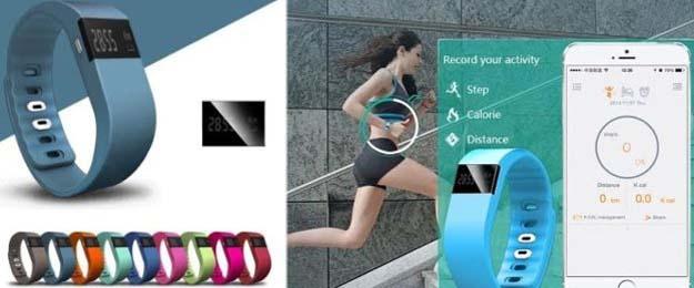 Inteligentný fitness náramok s displejom