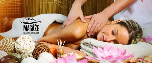 50-minútová masáž - na výber 4 druhy