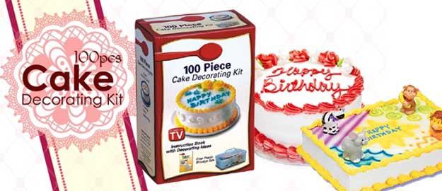 100-dielna cukrárenská sada na zdobenie